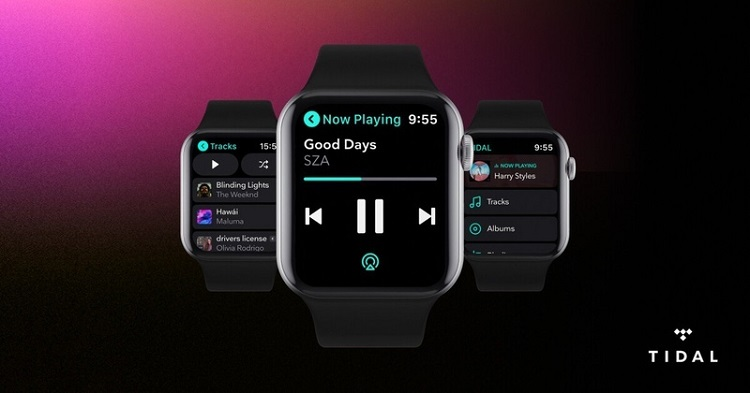 Tidal ra mắt ứng dụng riêng cho Apple Watch, có sẵn tính năng nghe offline